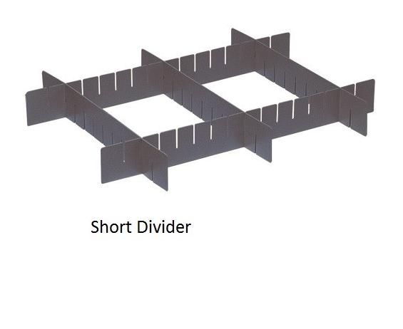 DIVIDERS FOR CONDUCTIVE DIVIDABLE GRID CONTAINER