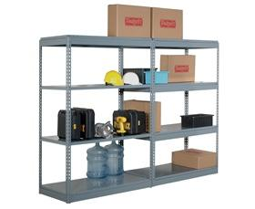INDUSTRIAL BOLTLESS SHELVING