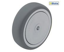 LIGHT DUTY WHEEL WITH THERMOPLASTIC RUBBER TREAD